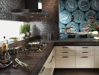 керамическое панно на кухне