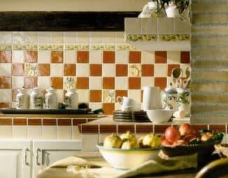 испанская плитка на кухню на фартук