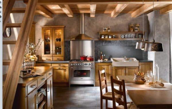 Кухни в английском стиле: дизайн традиционного интерьера