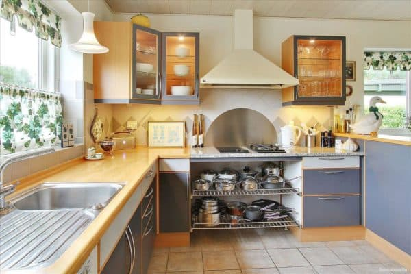 Кухня по фен шуй правила