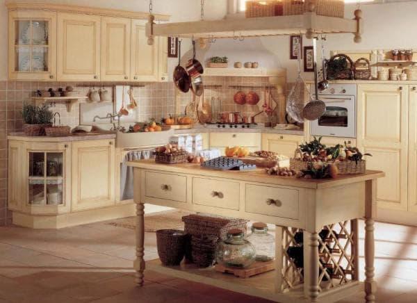 Кухни в средиземноморском стиле
