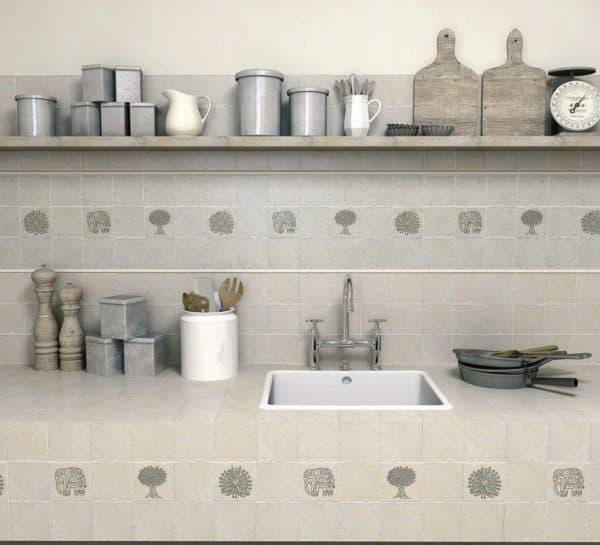 плитка 10х10 на кухню