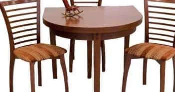 столы и стулья для маленькой кухни