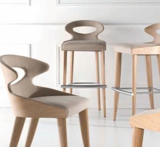 Полубарные стулья для кухни