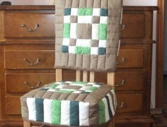 Чехлы для стульев для кухни: как сшить накидки на табуретки, диваны