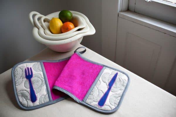 Прихватки для кухни выкройки