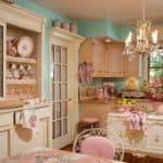 Кухня шебби шик: романтические воспоминания в интерьере