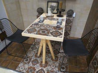 фартук в стиле пэчворк для кухни