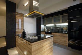 островная вытяжка для кухни