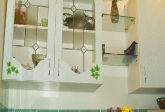 фартук для кухни из закаленного стекла