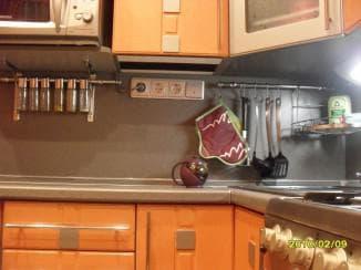 розетки на кухне расположение