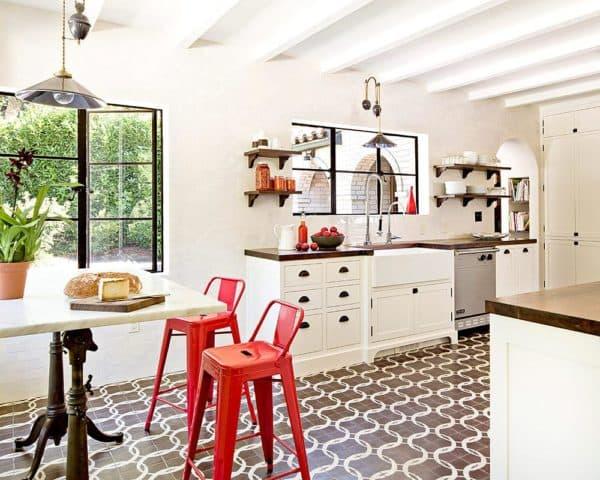 Как выбрать напольную плитку для кухни