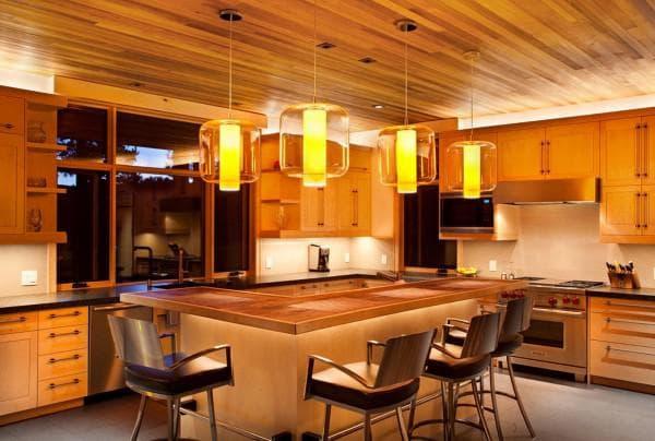 кухня в стиле кантри фото интерьер,