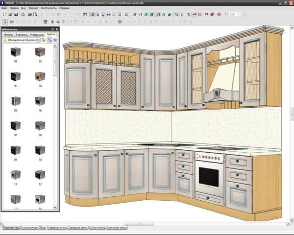 проектировщик кухни онлайн