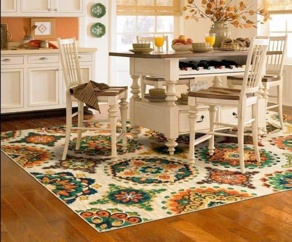 коврик на пол на кухню