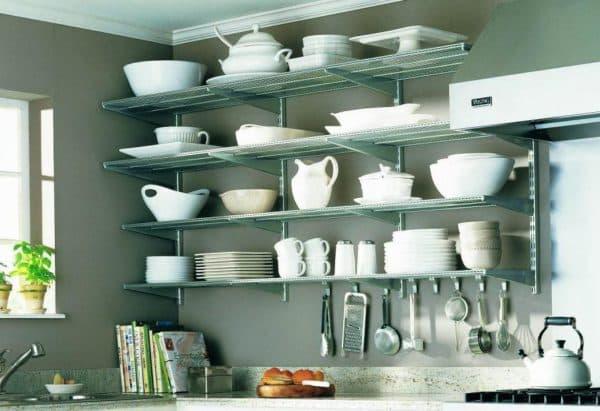 полочки для специй на кухне
