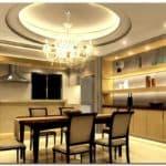 Какой потолок сделать на кухне: многоуровневые конструкции из гипсокартона