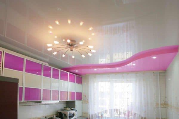 Какой потолок для кухни лучше