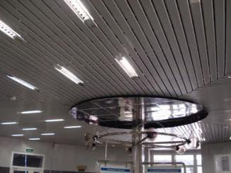 отделка потолка для кухни