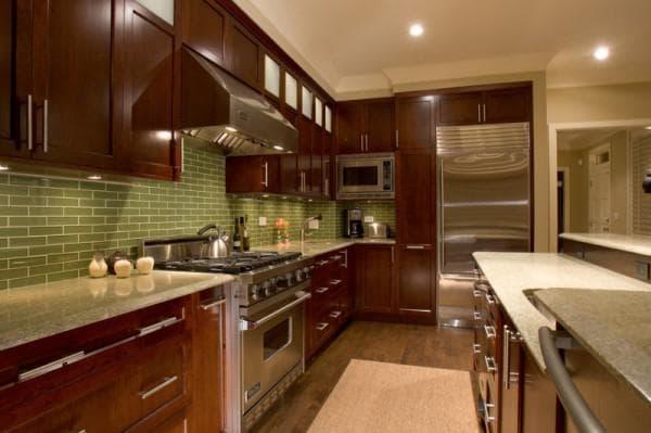 сочетание цветов +в интерьере кухни