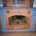 Терракотовая плитка: все нюансы облицовки печей и каминов