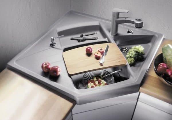 Мойка для кухни размеры