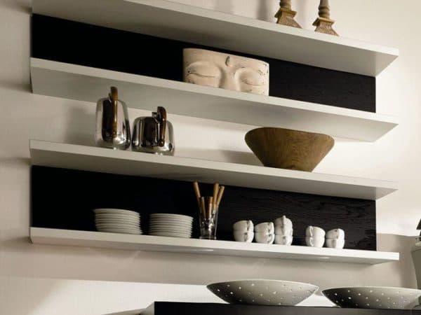 Навесная полочка для кухни