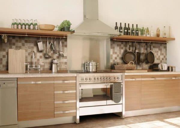 Навесные полочки для кухни