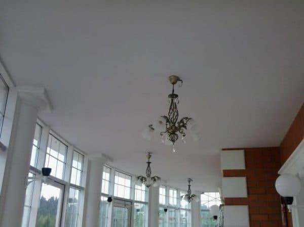 натяжной потолок ПВХ из Германии