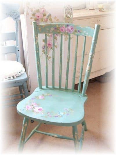 венский стул в стиле винтаж