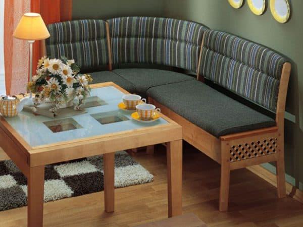 маленький диван уголок на кухню