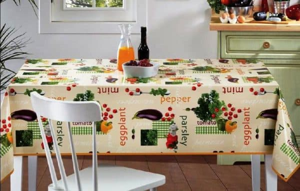 клеенка на стол на кухню