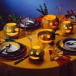 Сервировка стола в домашних условиях к празднику Хэллоуина