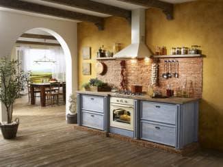 Кухня стиле ретро: как обустроить интерьер под старину