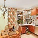 Дизайнерские идеи для кухни: цветочные принты