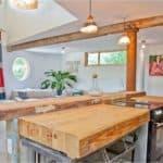 Деревянная столешница для кухни: преимущества эко-материалов