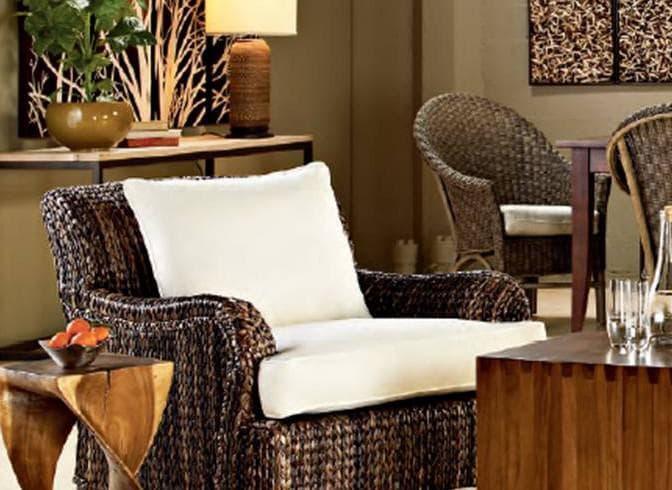 Плетеная мебель для кухни Икеа