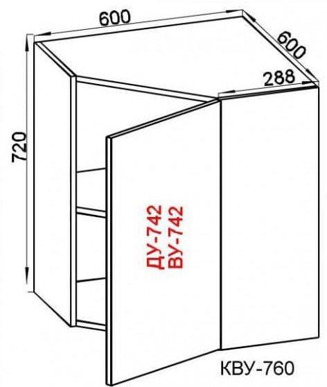 глубина навесного шкафчика