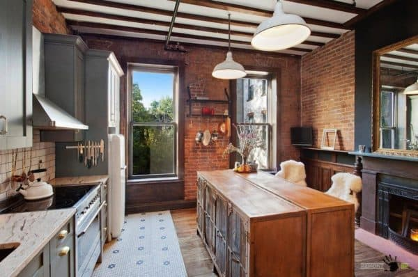 Подвесной светильник для кухни над столом