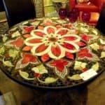 Керамические столы для кухни: неожиданное использование плитки