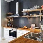 Интерьер кухни без верхних шкафов: новый дизайн