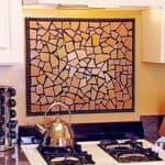 Керамическая плитка для кухни на фартук: цвет, стиль и дизайн