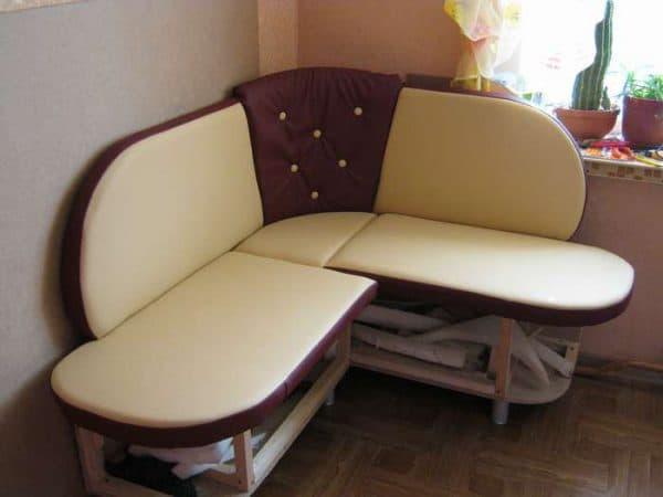 сиденья для кухонных уголков из ватина