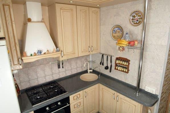 кухонные шкафы для узкой кухни