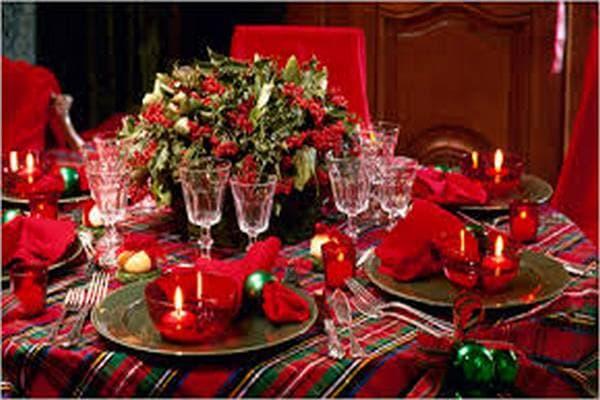 Сервировка праздничного стола в домашних условиях