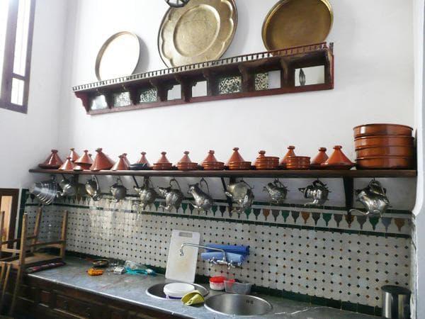 кухня в марокканском стиле