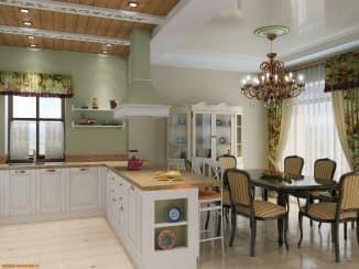 Кухни гостиные планировки