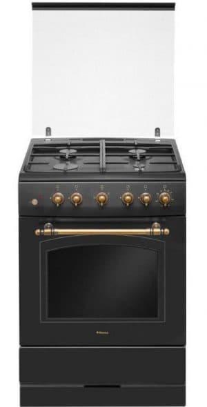 комбинированная газовая плита с электродуховкой Hansa