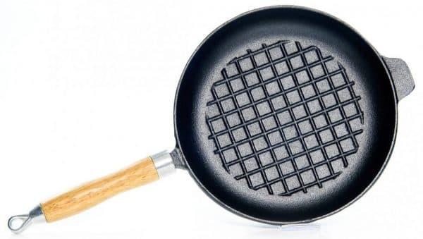чугунная сковорода для индукционных плит Fissman