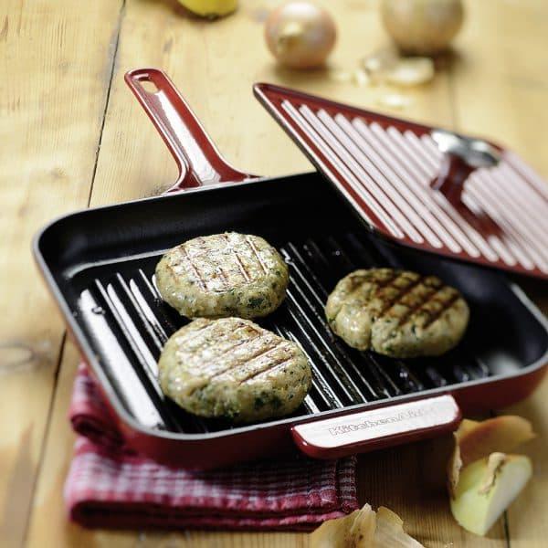 чугунная сковорода для индукционных плит KitchenAid